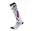 0356-742, Носки для мотокросса Pro Mx Sock Villian Белые