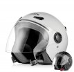 ZS210B (белый, XS), Шлем открытый ZEUS ZS-210B, глянец, размер XS, цвет белый