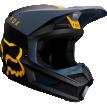 Fox Racing V1 Mata 2019 шлем кроссовый, черно-желтый