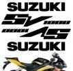 """decals_sv1000, Комплект наклеек """"suzuki sv1000"""""""