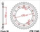 1340.43, Звезда задняя (ведомая) JTR1340 для мотоцикла стальная