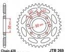 269.40, Звезда задняя (ведомая) jtr269 для мотоцикла стальная