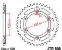 808.39, Звезда задняя (ведомая) jtr808 для мотоцикла стальная