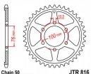 816.44, Звезда задняя (ведомая) JTR816 для мотоцикла стальная