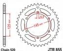 855.45, Звезда задняя (ведомая) JTR855 для мотоцикла стальная