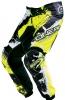 0124S-632, Штаны elements shocker черно-желтые флуоресцентные, размер 32/48, цвет Черный