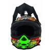 0583C-402, Кроссовый шлем 7series crank чёрный/цветной, размер S