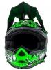0583M-10, Кроссовый шлем 7Series Evo MENACE зеленый неон, размер M