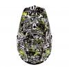 0623-09 (Термопластик, глянец, Черный/Белый, M), Шлем кроссовый детский 3SERIES ATTACK, цвет Разноцветный