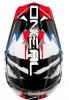 0623S-503, Кроссовый шлем 3Series SHOCKER чёрно-сине-красный, размер M