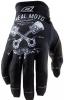 0385JP-008, Перчатки кроссовые jump pistons черн/бел, размер S