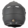 DSE1 (двойное стекло, Термопластик, мат., Черный, L), Снегоходный шлем с двойным стеклом DSE1 черный матовый, размер L, цвет черный матовый