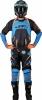 JT15120P36, Штаны для мотокросса protek subframe, размер 36, цвет Синий/голубой