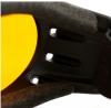 BCA001A, Очки cruiser чёрные с янтарными линзами antifog