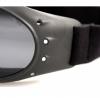 BCA001, Очки cruiser чёрные с дымчатыми линзами antifog