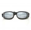BPIS01R, Очки piston чёрные с зеркальными линзами