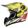 CR1TC14-XL, Кроссовый шлем CR901 TC14, размер XL, цвет Желтый