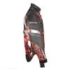 A07586 (черный/красный, M), Снегоходная куртка Taiga, черная/красная