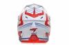 JT15010H05-E, Шлем кроссовый  als1.0 бело-красно-синий, размер XL