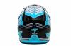 JT15050H03-E, Шлем кроссовый  als1.0 черно-голубой, размер M
