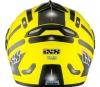 X14906 (Термопластик, глянец, Жёлтый/Чёрный, L), Шлем модуляр HX333 STROKE желто-черный