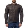 M08512 (Коричневый, S), Кожаная куртка Bro