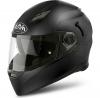 MVS11 (Термопластик, мат., Черный, M), Шлем интеграл Movement S Color черный матовый