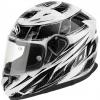 T6K (Стекловолокно, глянец, Белый/Чёрный, XL), Шлем интеграл T600 KNIFE белый, размер XL, цвет Белый