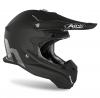 TOV1, Шлем кроссовый Terminator Open Vision черный, Стекловолокно, мат., Черный, Размер M