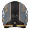 X10038-M93-XL, Шлем открытый HX 77 Custom серебро-черный мат, размер S